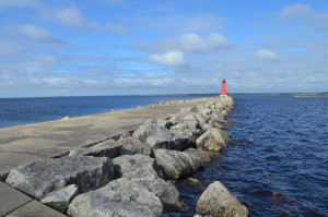 Manistique East Breakwater Lake Michigan Lighthouse