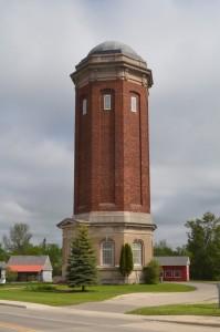 Manistique Water Tower Michigan