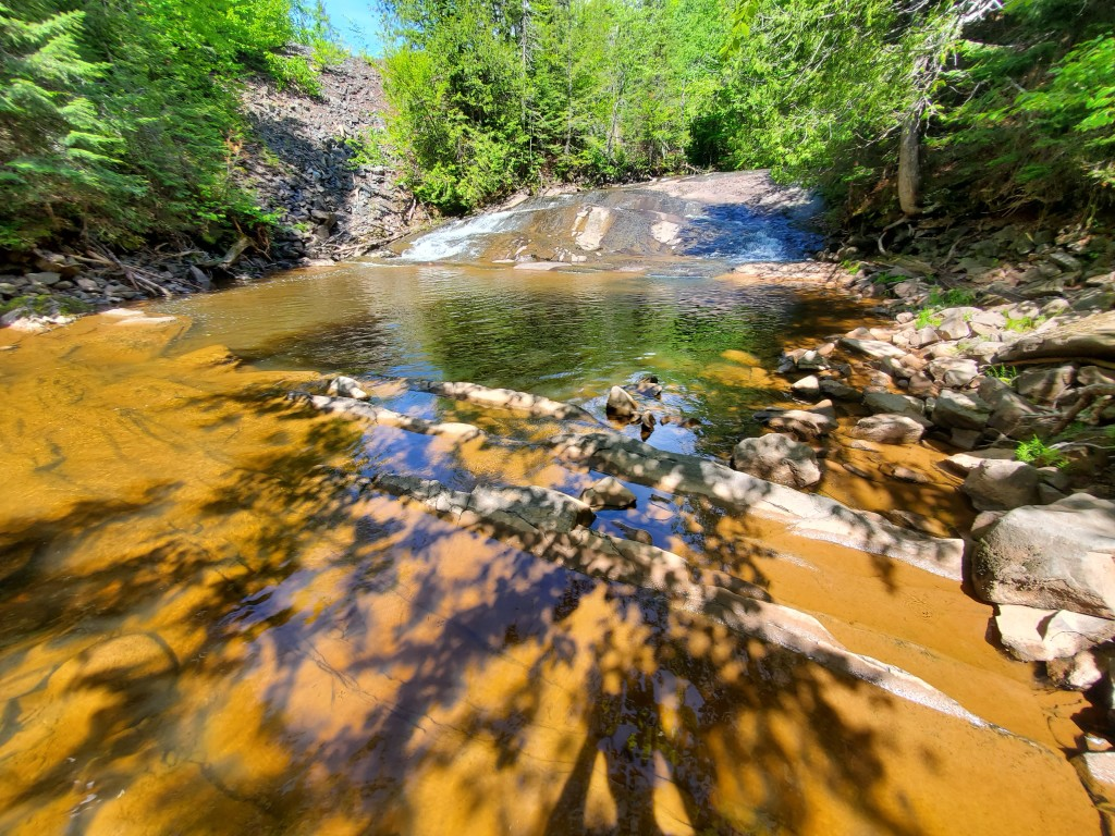 Nonesuch Falls, Porcupine Mountains Wilderness State Park, June