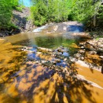 Nonesuch Falls and Nonesuch Mine Ruins, Porcupine Mountains Wilderness State Park