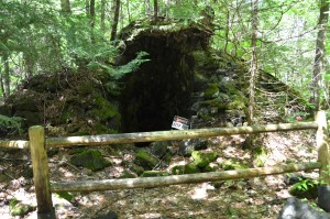 Nonesuch Mine Ruins Shaft Porcupine Mountains