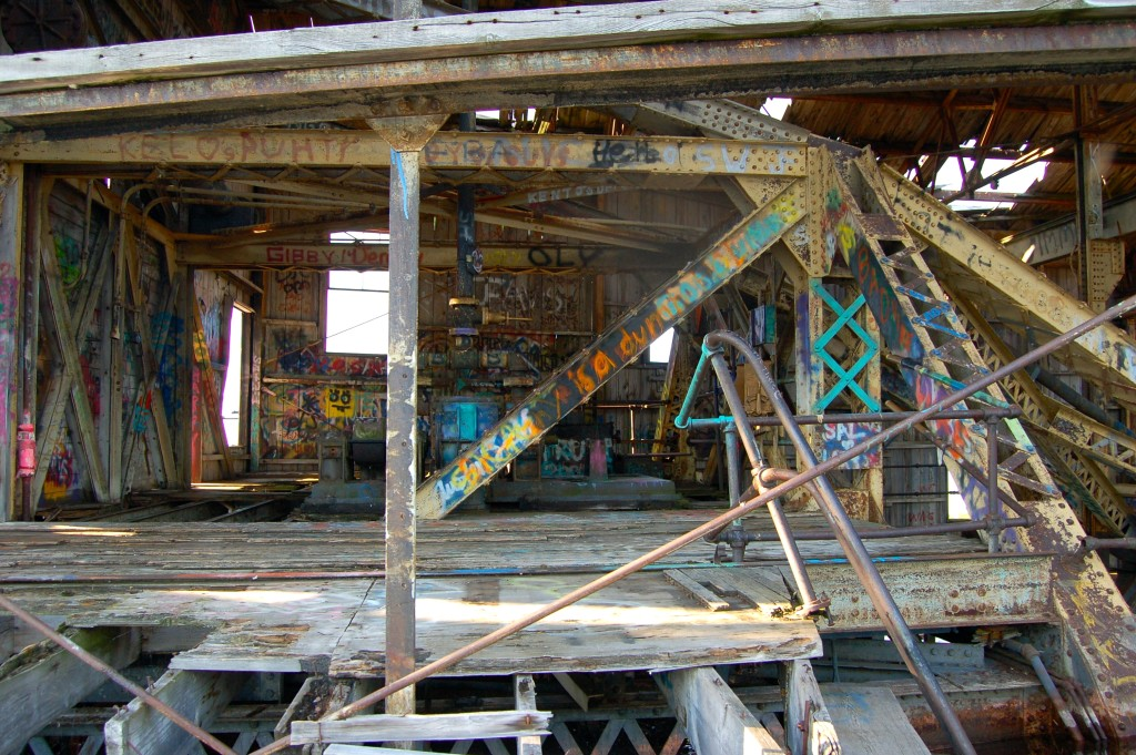 Quincy Dredge #2 Inside View