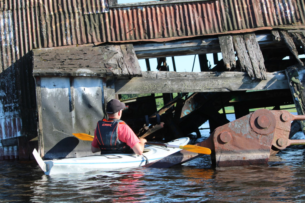 Quincy Dredge Kayak Michigan Adventure Keweenaw