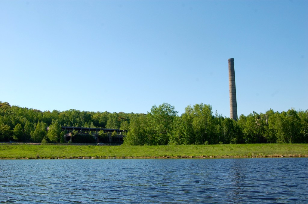 Quincy Dredge Kayak Stamp Mill