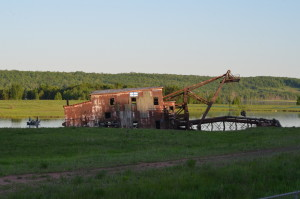 Quincy Dredge M26 Road View Michigan