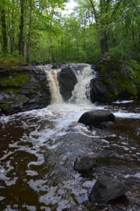 Root Beer Falls Michigan Waterfall