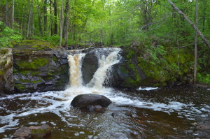 Root Beer Falls Porcupine Mountains Michigan