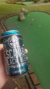 Upper Hand Brewery Escanaba Black Beer