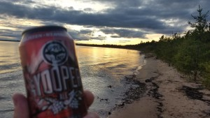 Upper Hand Brewery Yooper Ale