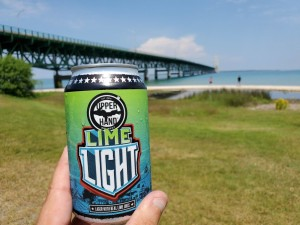 Upper Hand Brewery Lime Light