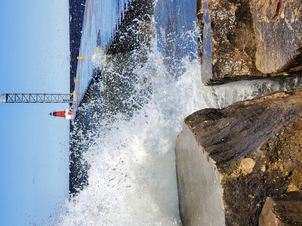 Menominee North Pier Lighthouse, June