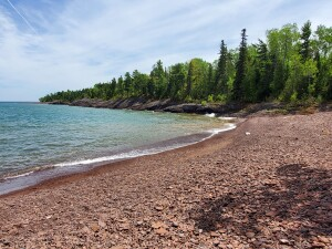 Horseshoe Harbor Beach Keweenaw Copper Harbor