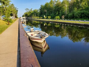 William Mitchell State Park Clam Lake Canal