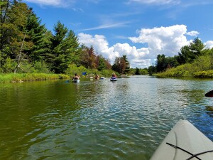 Platte River Kayak Northern Michigan