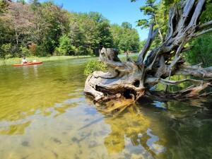 Platte River Kayak Sleeping Bear Michigan