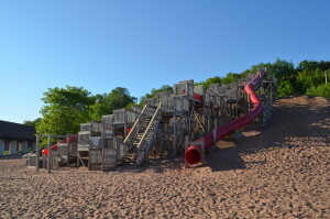 Chutes and Ladders Houghton Michigan Best Playground
