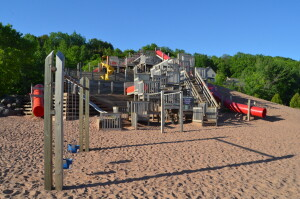Chutes and Ladders Houghton Michigan Swings