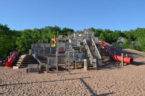 Chutes and Ladders Playground Houghton Michigan