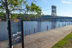 Historic Houghton Michigan Walking Tour Portage Lake Lift Bridge