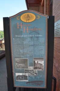 Historic Houghton Walking Tour Municipal Activites