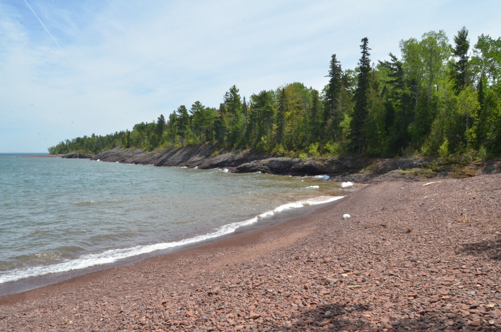 Horseshoe Harbor Michigan Keweenaw Shoreline