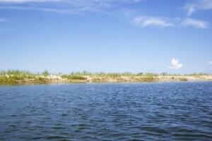 Platte River Kayak Dunes View Lake Michigan