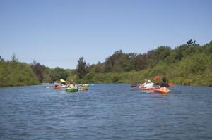 Platte River Kayak Loon Lake Sleeping Bear Dunes
