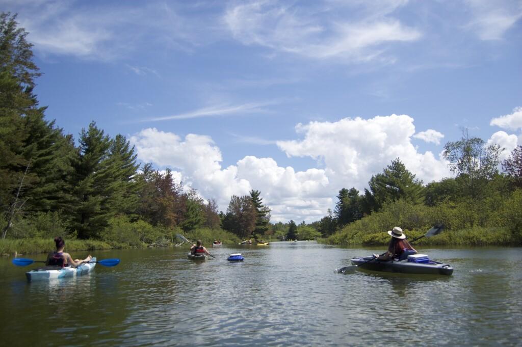 Platte River Kayak Sleeping Bear Dunes 13