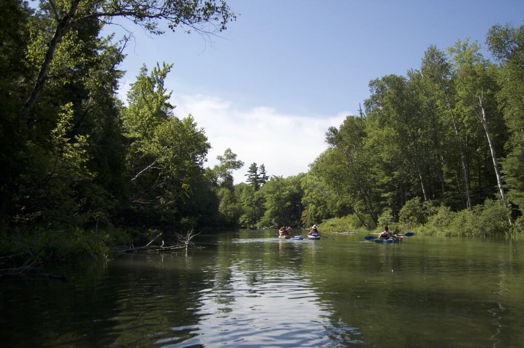 Platte River Kayak Sleeping Bear Dunes 3