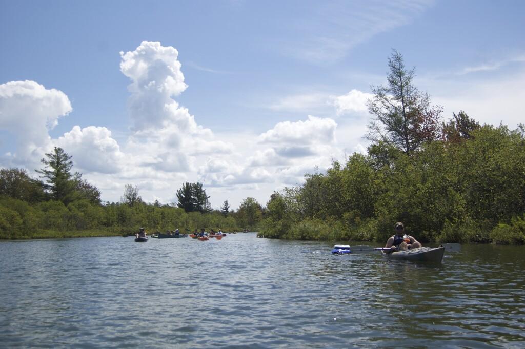 Platte River Kayak Sleeping Bear Dunes 8