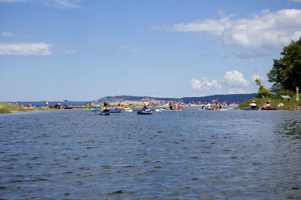Platte River Kayak Sleeping Bear Dunes Beach