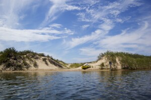 Platte River Kayak Sleeping Bear Dunes Feature Photo