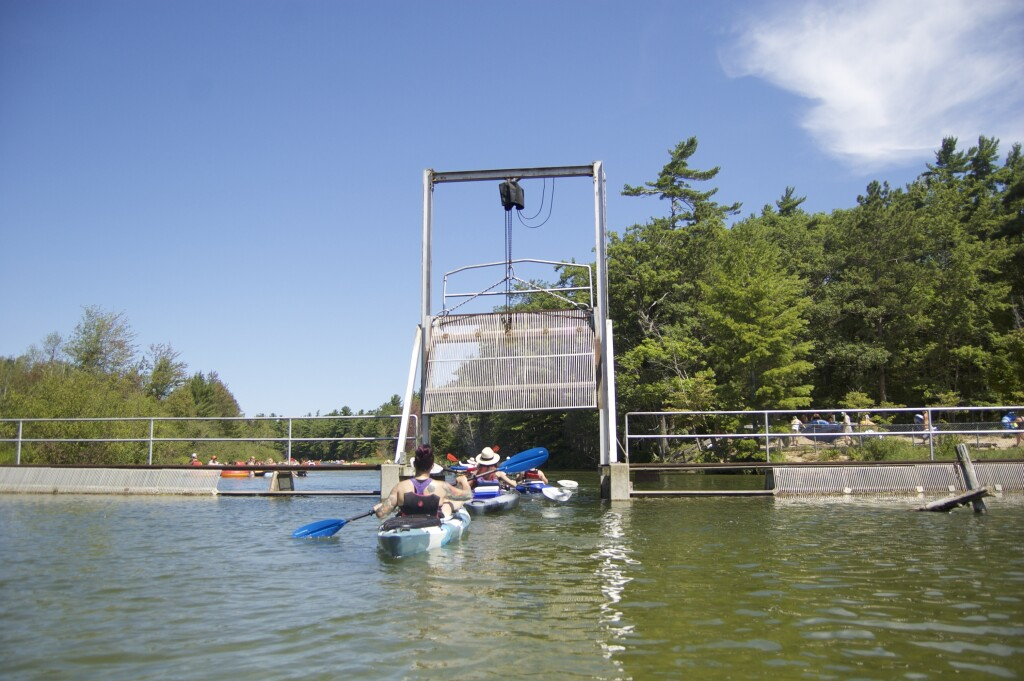 Platte River Kayak Sleeping Bear Dunes Fish Weir Gate