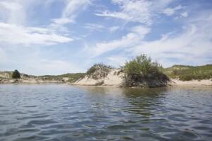 Platte River Kayak Sleeping Bear Dunes Michigan Shoreline
