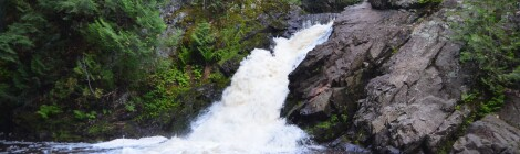 Powderhorn Falls, Gogebic County