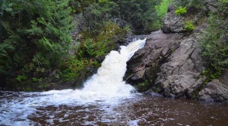Powderhorn Falls, Gogebic County