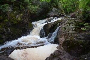 Powderhorn Falls Upper Bessemer Michigan