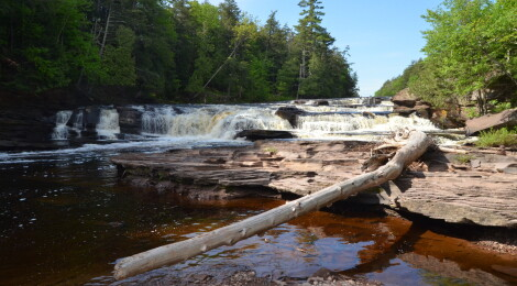 Michigan Trail Tuesday: Presque Isle Waterfalls Loop at Porcupine Mountains Wilderness State Park