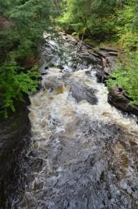 Presque Isle Waterfalls Potholes Porcupine Mountains