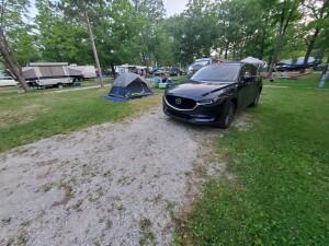 William Mitchell State Park Campground Michigan