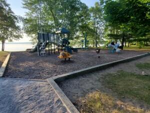 William Mitchell State Park Campground Playground