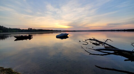 William Mitchell State Park in Cadillac is a Water Recreation Paradise