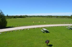 Woolsey Memorial Airport Landing Strip Michigan