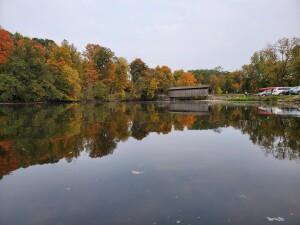 Fall Color Fallasburg Covered Bridge Lowell