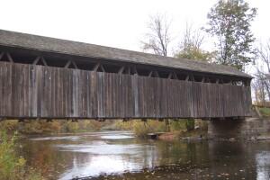 Ada Covered Bridge Michigan Fall Color