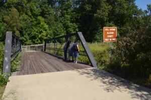 133rd Avenue Bridge Battle Creek Historic Bridge Park
