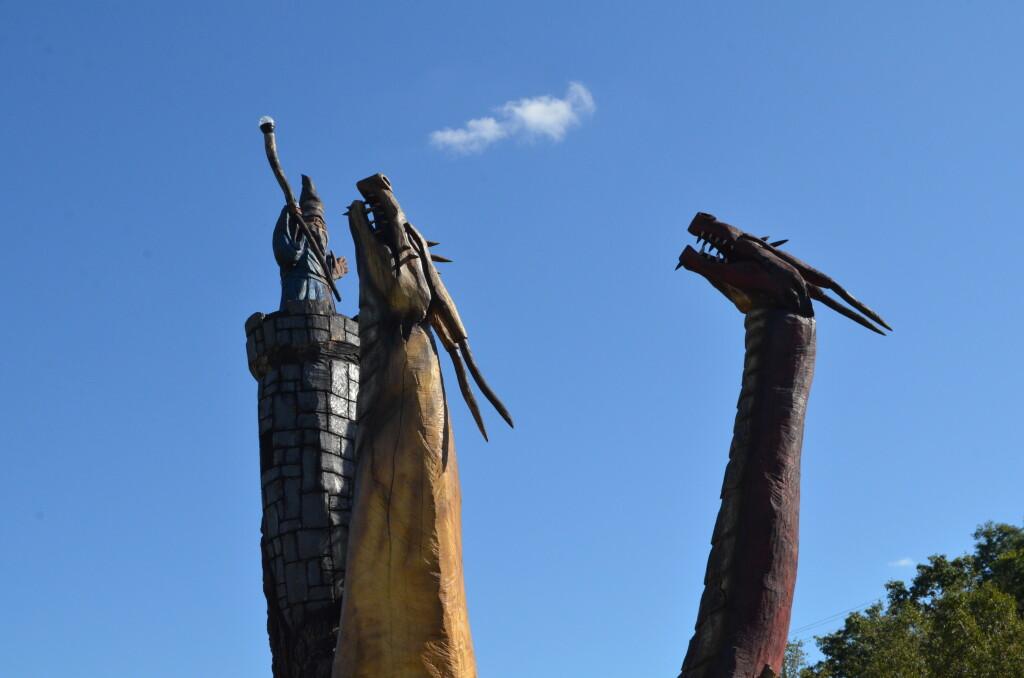 2 Fantasy Forest Dragons Battle Creek MI