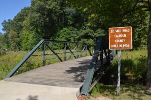 20 Mile Road Bridge Battle Creek Historic Bridge Park