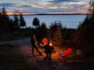 Drummond Island Campfire Zero Worries