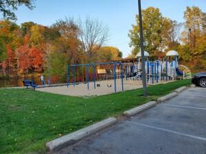 Newaygo Riverfront Park Playground